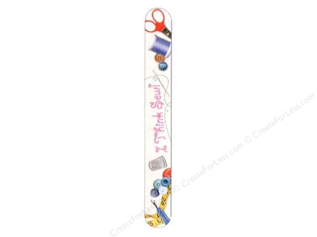FotoFiles Nail File 7 in. I Think Sew