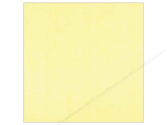 Doodlebug Paper 12 x 12 in. Sugar Coated Buttercream (25 sheets)