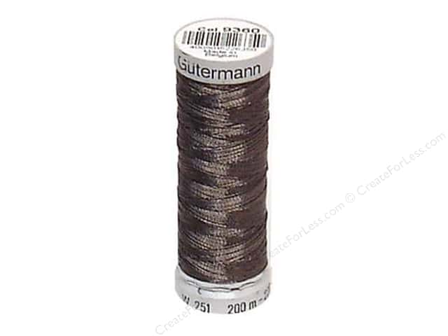 Gutermann Decor Metallic 200M Metal Grey