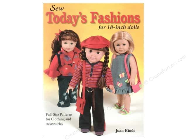 "Krause Publications Sew Today's Fashions For 18"" Dolls Book"