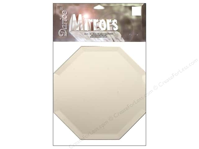Darice Mirrors Octagon Bevel 6 in. 1 pc.