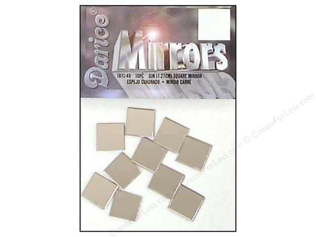 Darice Mirrors Square 1/2 in. 10 pc. (3 packages)