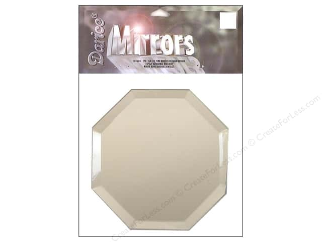 Darice Mirrors Octagon Bevel 5 in. 1 pc.