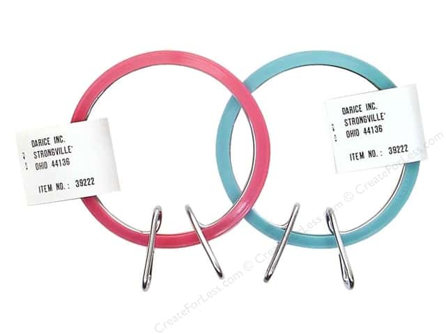 Darice Spring Tension Hoop 3 1/2""