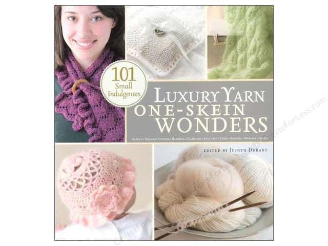 Storey Publications 101 Luxury Yarn One Skein Wonders Book