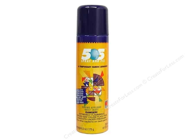 J.T. 505 Spray & Fix Temporary Fabric Adhesive 6.2oz