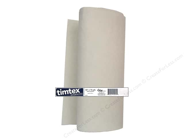 "C&T Interfacing Timtex 20"" Bolt 10yd (10 yards)"