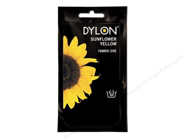 Dylon Permanent Fabric Dye 1.75 oz. Sunflower Yellow
