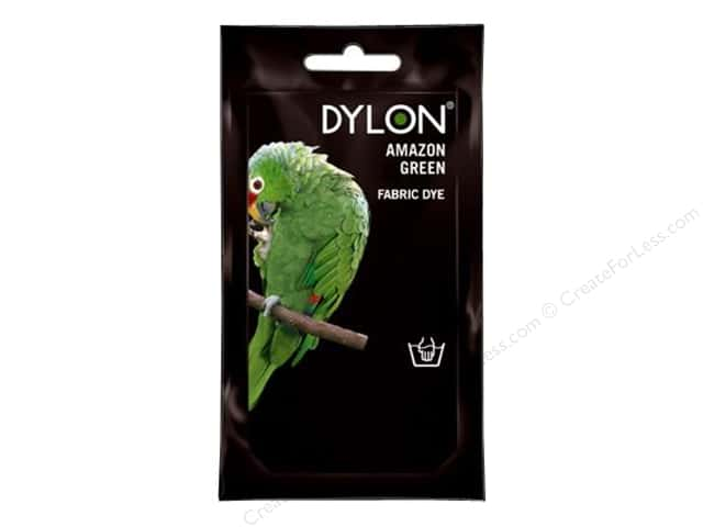 Dylon Permanent Fabric Dye 1.75 oz. Amazon Green