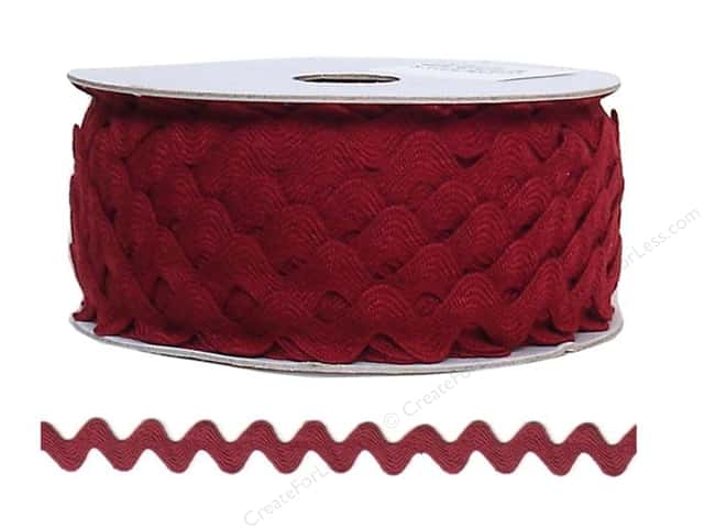 Ric Rac by Cheep Trims  11/16 in. Wine (24 yards)