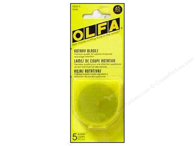 Olfa Replacement Blade 45 mm 5 pc