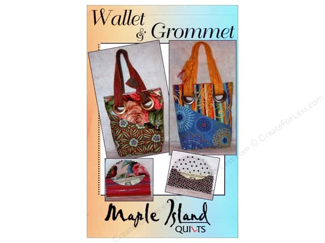 Maple Island Quilts Wallet & Grommet Pattern