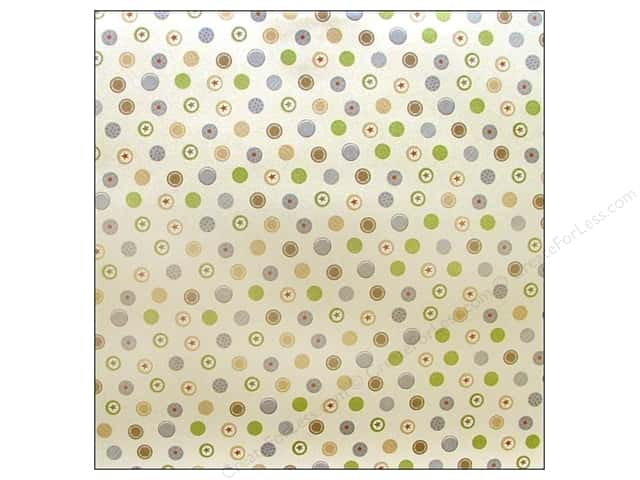 Autumn Leaves Paper 12x12 Cuteworld Boy Clever Pearl (25 sheets)