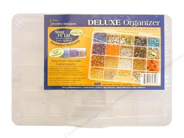 Darice Jewelry Designer Bead Storage System 20 Compartment