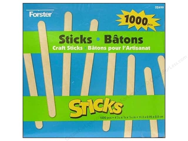 Woodsies Craft Stick 1000 pc.
