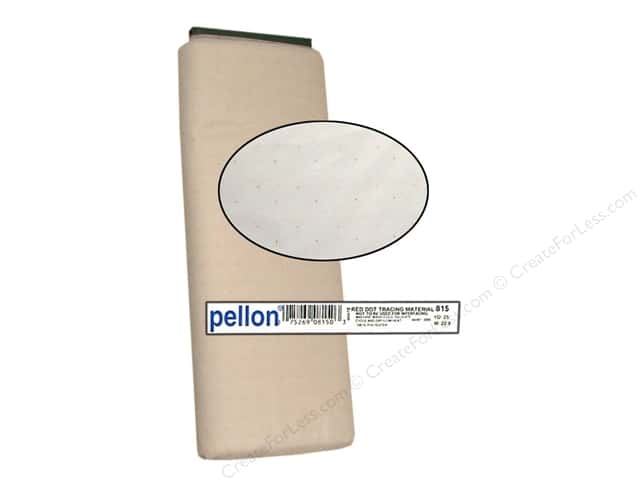 "Pellon Tracing Material Red Dot 45"" 25yd (25 yards)"