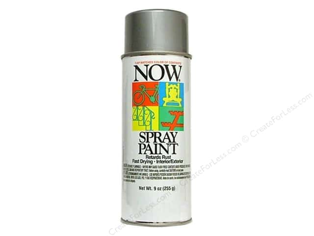 Krylon Now Spray Paint 9oz Aluminum