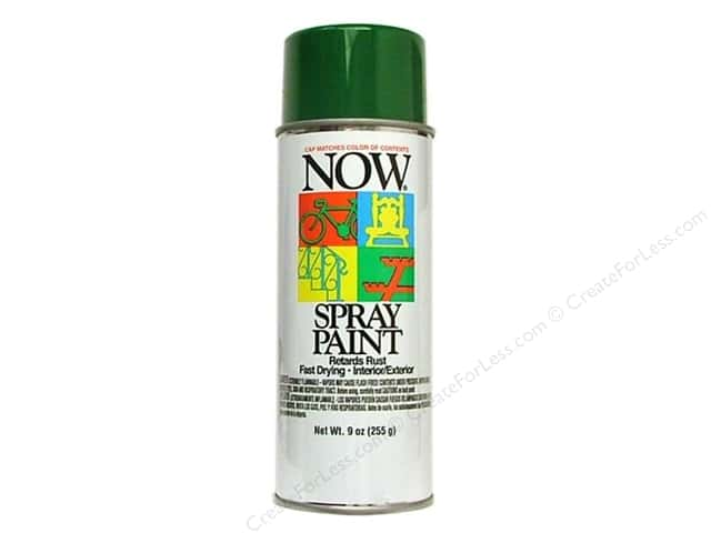 Krylon Now Spray Paint 9oz Hunter Green