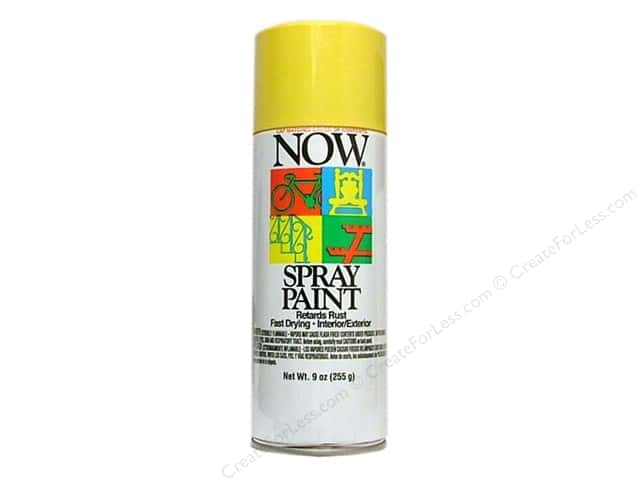 Krylon Now Spray Paint 9oz Sunshine Yellow