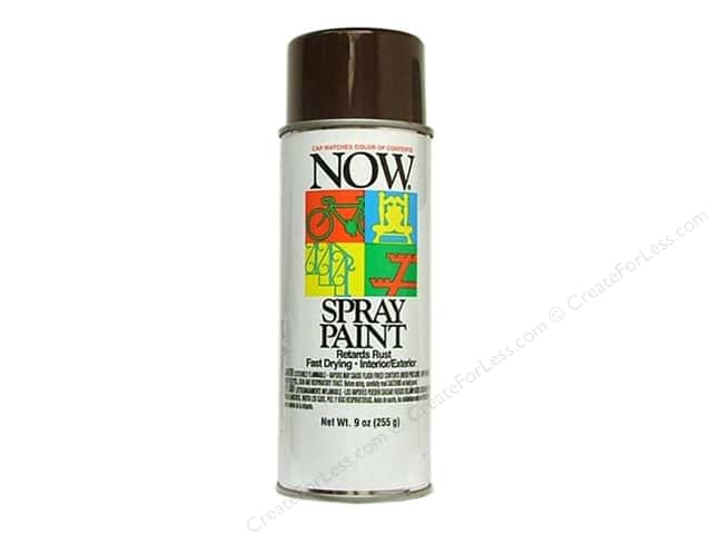 Krylon Now Spray Paint 9oz Cocoa Brown