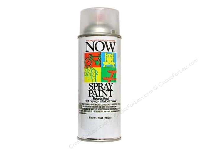 Krylon Now Spray Paint 9oz Clear Gloss