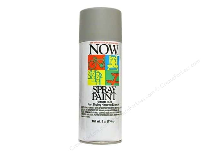 Krylon Now Spray Paint 9oz Grey Primer