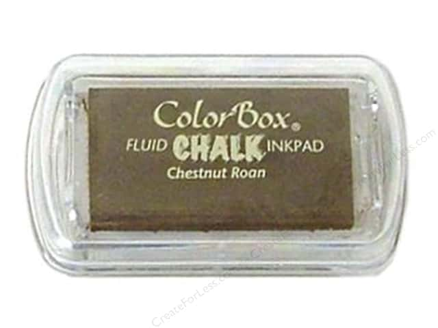 ColorBox Fluid Chalk Inkpad Mini Size Chestnut Roan