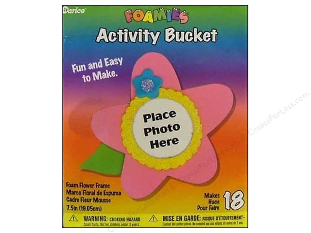 Darice Foamies Kits Bucket Flower