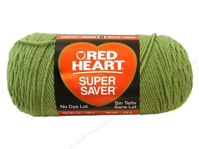 Red Heart Super Saver Yarn #0624 Tea Leaf 7 oz.