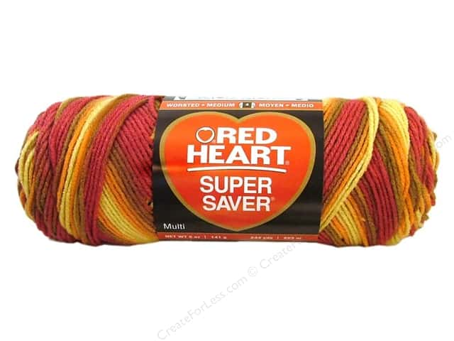Red Heart Super Saver Yarn #0947 Marrakesh 5 oz.