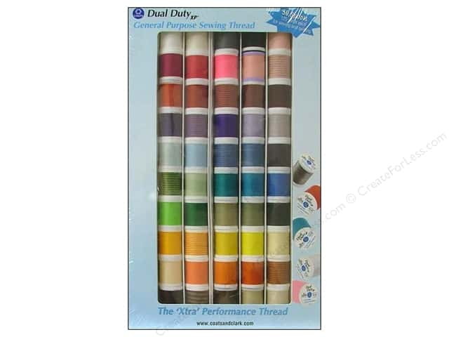 Coats & Clark Dual Duty XP All Purpose Thread Assorted Pack 50 pc.