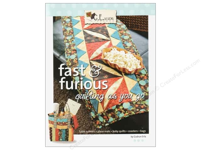 GE Designs Fast & Furious Quilting As You Go Book