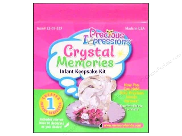 Precious Impressions Keepsake Kit Crystal Memories