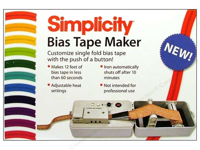 Simplicity Bias Tape Maker Electric