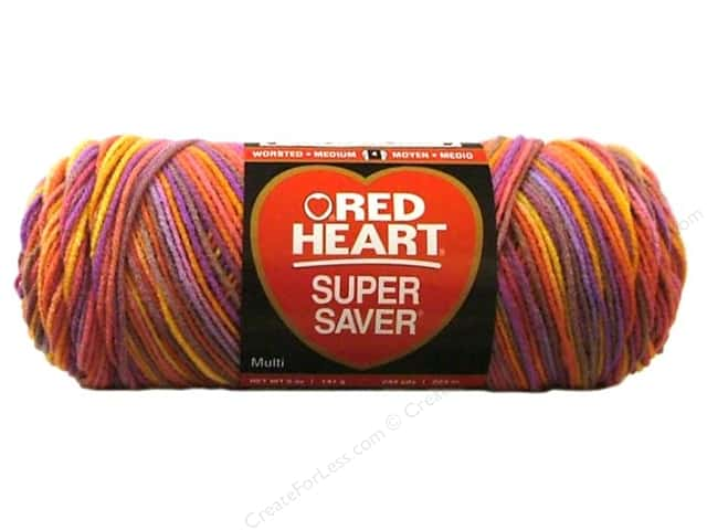 Red Heart Super Saver Yarn #0942 Melonberry 244 yd.
