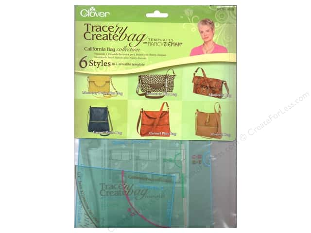 Clover Template Trace N Create Zieman Bag California