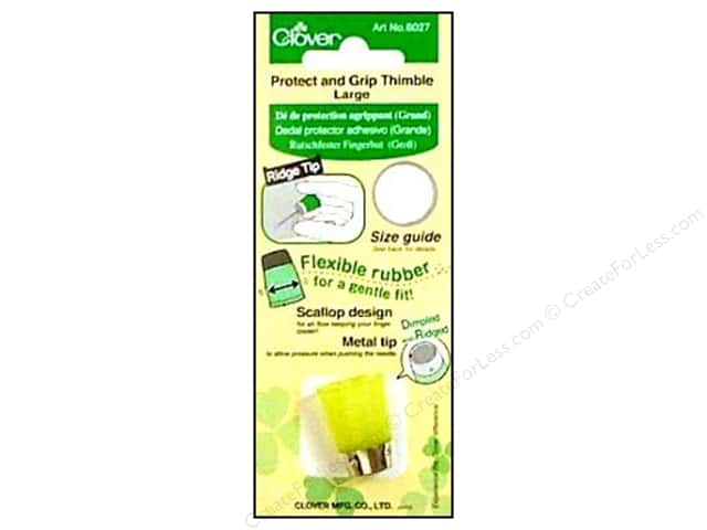 Clover Thimble Protect & Grip Large