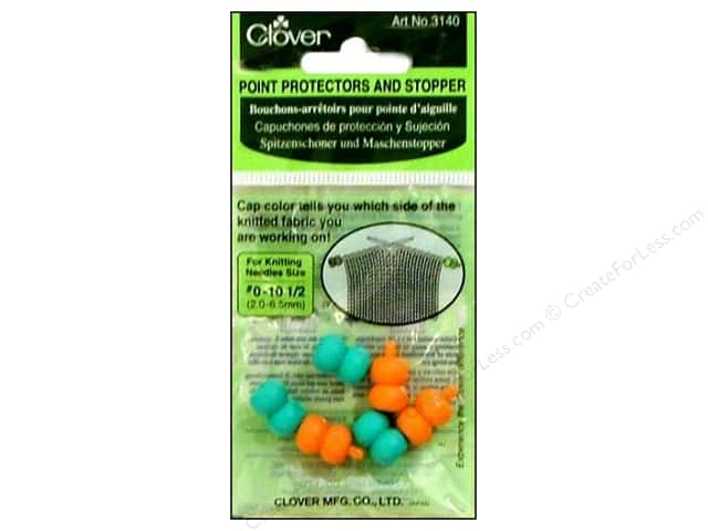 Clover Point Protectors and Stopper 6 pc.