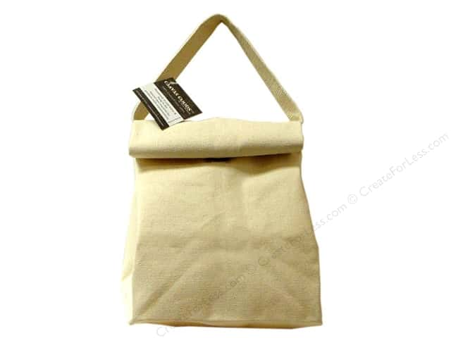 Mark Richards Blank Canvas Lunch Bag Natural