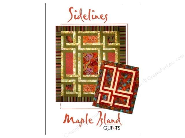 Maple Island Quilts Sidelines Pattern
