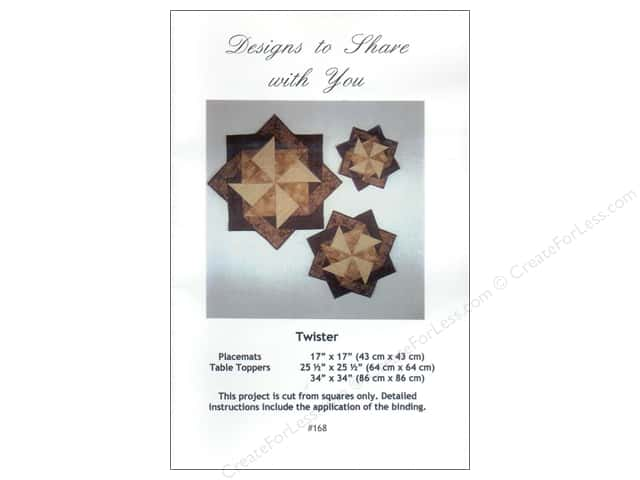Designs To Share Ursula Riegel Twister Pattern