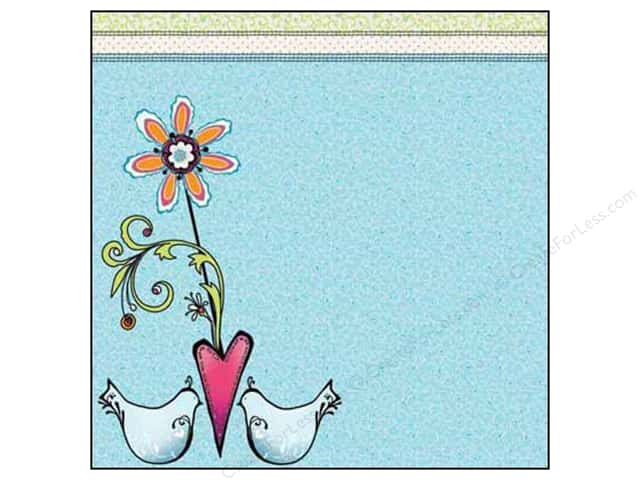 Adornit Paper 12x12 Nancy Jane Tweetie Bird (25 sheets)
