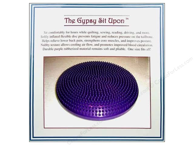 The Gypsy Quilter Sit Upon Purple