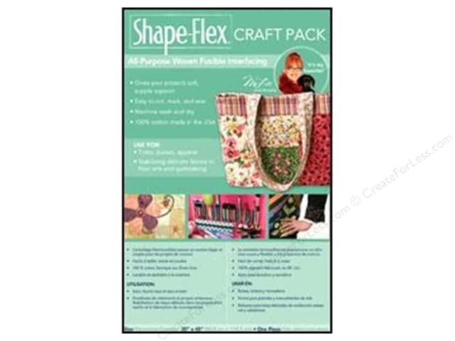 "C&T Interfacing Shape Flex Fusible Craft Pack 20""x45"""