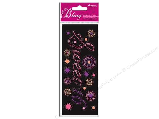 Jolee's Bling Stickers Sweet 16