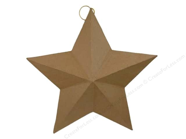 Paper Mache Star Flat Back Extra Large by Craft Pedlars 18 in.