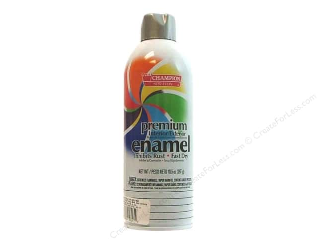 Chase Champion Premium Enamel Spray Paint 10.5 oz. Chrome Aluminum
