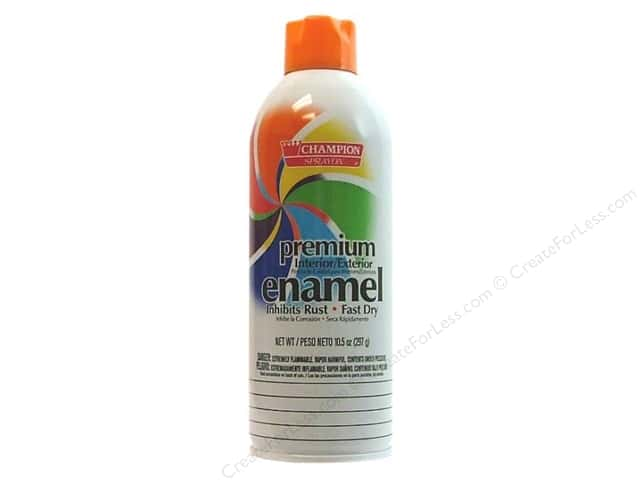 Chase Champion Premium Enamel Spray Paint 10.5 oz. Gloss Danger Orange