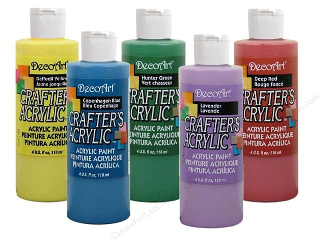 DecoArt Crafter's Acrylic Paint 4oz