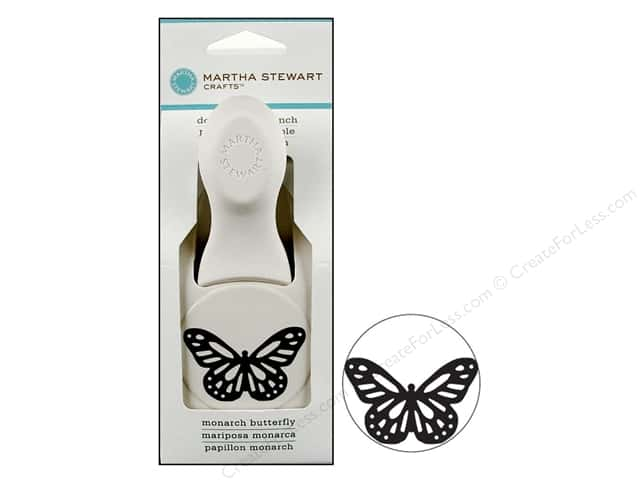 Martha Stewart Punch Large Monarch Butterfly